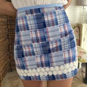 Vineyard Vines plaid skirt